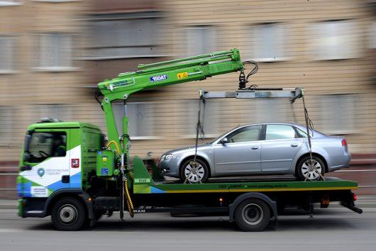 Компания Гепард везёт машину