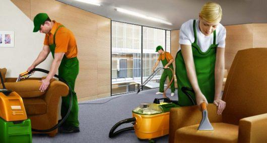 Регулярная уборка офиса