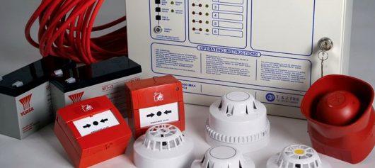 Установка пожарной сигнализации от компании Альянс